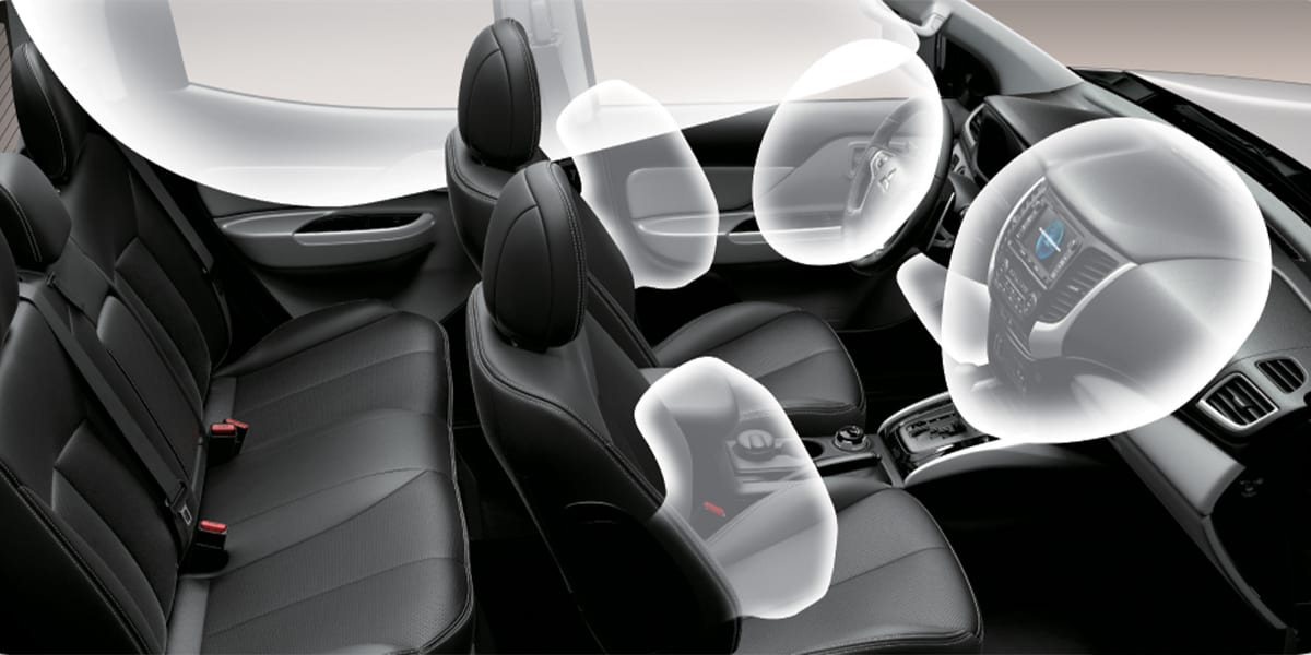 7 airbags SRS